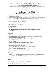 Jahresbericht 2000 Niedersachsen - Giftinformationszentrum-Nord