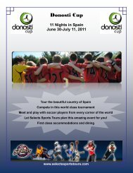 Donosti Cup - Selects Sports