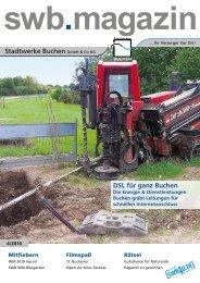 Swb.magazin - Stadtwerke Buchen GmbH & Co KG