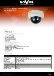 Day/Night Vandal Proof Camera NVC-GDN4212V/H