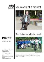 Schulbrief Juli 2011 - Aggertal-Gymnasium