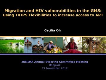 Session 3 - Using TRIPS Flexibilities to Increase ... - JUNIMA.org