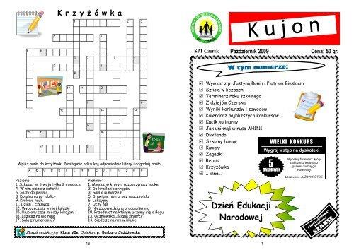 Paåºdziernik 2009 Szkoåa Podstawowa Nr 1 W Czersku