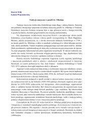 Chór parafialny pw. św. Cecyli - Parafia pw. św. Mikołaja w ...