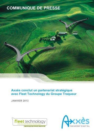 CP 24 janvier 2013 - Axxes