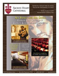 Sunday, October 27, 2013 Thirtieth Sunday in Ordinary Time The ...