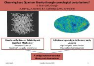 Observing Loop Quantum Cosmology through ... - Univers Invisible