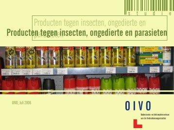 Producten tegen insecten, ongedierte en parasieten - Crioc