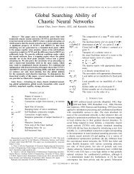 Global searching ability of chaotic neural networks - Circuits and ...