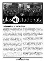 Glas studenata - Pokret za slobodu