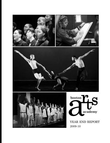 YEAR END REPORT - Boston Arts Academy