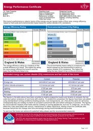 Energy Performance Certificate - Oldham Chronicle