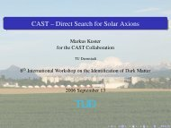 CAST -- Direct Search for Solar Axions