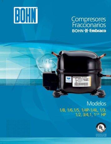 Compresores Fraccionarios - Bohn