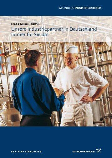 Unsere Industriepartner in Deutschland – immer ... - Bartsch Pumpen