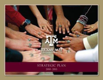 STRATEGIC PLAN - Texas A&M University at Qatar