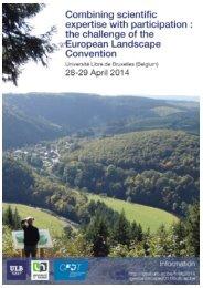READ MORE... - Landscape Europe