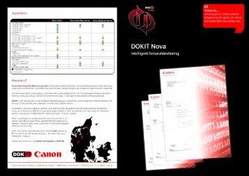 Nova brochure - DOKIT.dk
