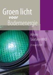 Groen licht voor bodemenergie - SIKB