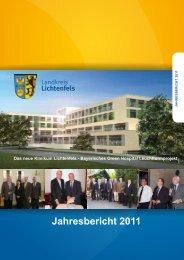 Jahresbericht 2011 - in Lichtenfels - Bayern