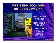 Mississippi Economic Outlook 2012-2017
