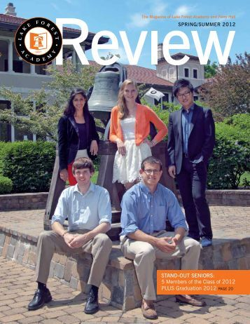 Summer 2012 Review - Lake Forest Academy