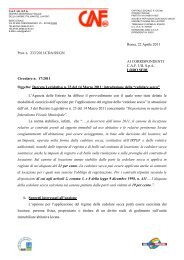 Roma, 22 Aprile 2011 Prot. n. 233/2011/CDA/SS/GN AI ... - uil varese