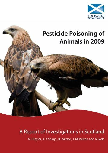 Pesticide Poisoning of Animals in 2009 - A Report of ... - SASA