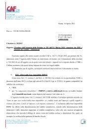 Roma, 18 Aprile 2013 Prot. n.: 333/2013/CDA/SS/GN Ai ... - uil varese