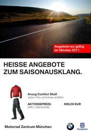 aktionspreis: 699,00 eur - BMW Motorrad International
