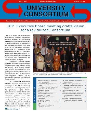 Jan-Dec 2005 issue - UC - searca