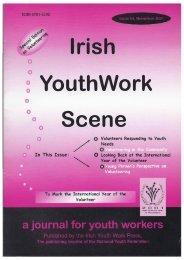 Issue 34: November 2001 - Youth Work Ireland