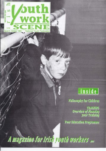 Issue 08: October 1993 - Youth Work Ireland