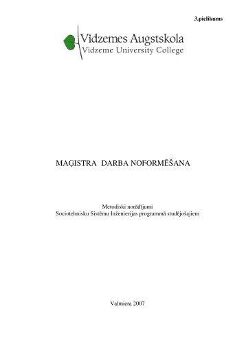 Metodiskais materiāls pdf formātā. - Sociotechnical Systems ...