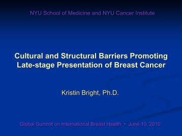 Bright - Breast Health Global Initiative