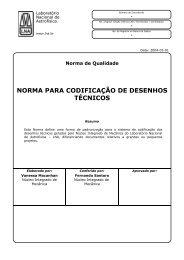 norma para codificação de desenhos técnicos - Laboratório ...