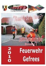 Manfred Horn - bei der Freiwilligen Feuerwehr Gefrees