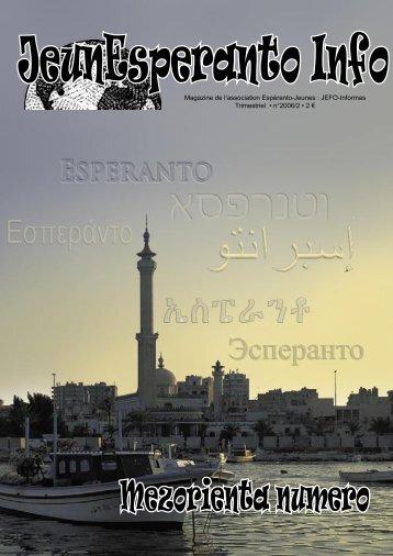 2006/2 - Espéranto-Jeunes