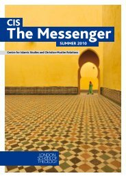 CIS Messenger - London School of Theology