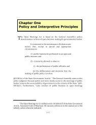 Chapter 1 - Maryland Attorney General