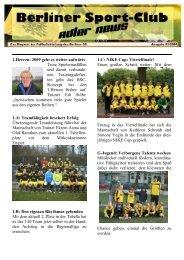 Newsletter 01-2009 tt _1 - Berliner SC