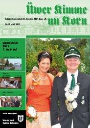 Üwer Kimme un Korn 2012 - Schützenbruderschaft St. Sebastian ...