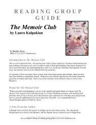 The Memoir Club - Macmillan