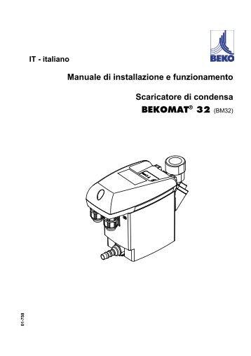 Scaricatore di condensa a galleggiante ft 16 spirax sarco for Absoluta 16 manuale installazione
