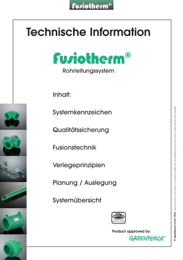 4 Verlegeprinzipien - aquatherm - hungária Kft.