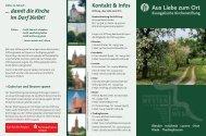 das Faltblatt unserer Stiftung herunterladen - Kirchenkreis Verden