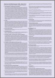 Allgemeine Geschäftsbedingungen (AGB) - Manikin/ Barts - ETD