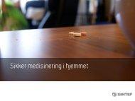 Sikker medisinering i hjemmet - Innomed