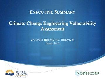 Executive Summary and Presentation