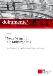 Neue Wege für die Kulturpolitik - Rolf Hempelmann